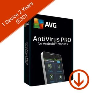 avg antivirus pro for android mobiles 1 device 2 years esd