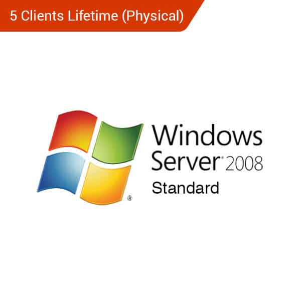 Microsoft-Windows-Server-2008-Standard-5-Client-Lifetime-(Physical)-Primary