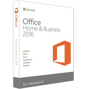 office home & business 2016 1 windows pc