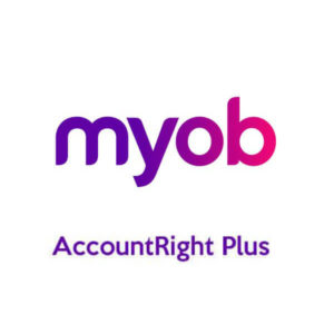 MYOB AccountRight Plus brand logo