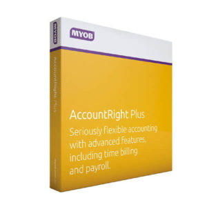MYOB accountright plus product image
