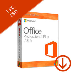 1 pc esd office professional plus 2016