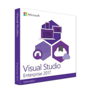 Visual Studio Enterprise 2017 box microsoft product