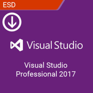 microsoft Visual Studio Professional 2017 esd