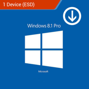 windows 8.1 pro 1 device esd