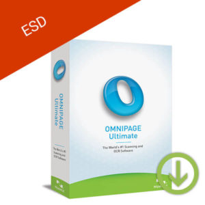 nuance omnipage ultimate esd