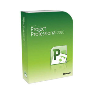 Microsoft Project Professional 2010 box