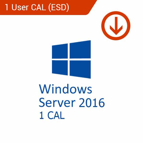 windows server 2016 1 cal esd