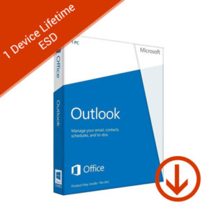 microsoft outlook 1 pc lifetime esd 2016