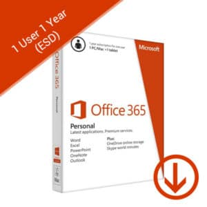 office 365 personal 1 user 1 year esd