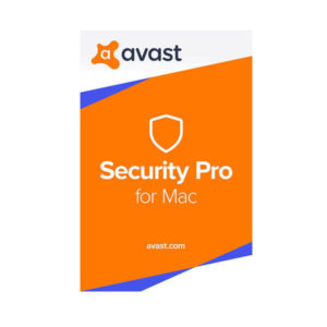 Avast Security Pro 1 Year 1 Mac box