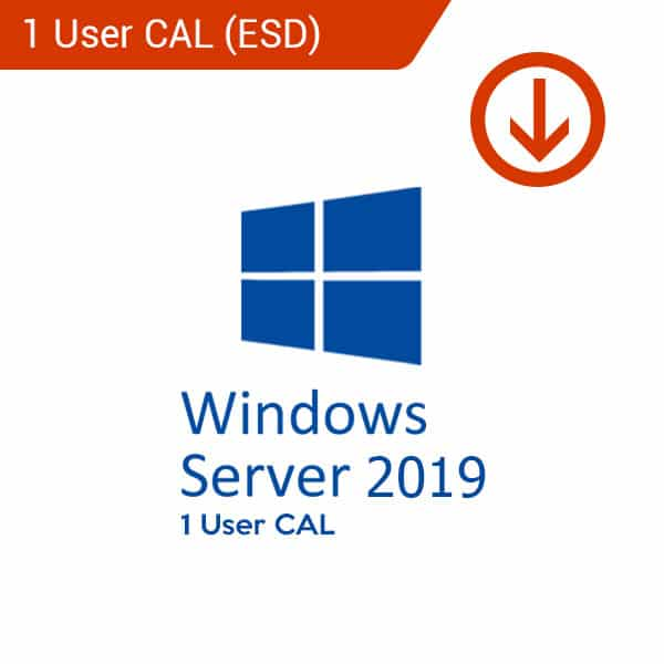 windows server 2019 1 user cal esd