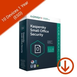 Kaspersky Small Office Security 2019 1 Year 10 User Global