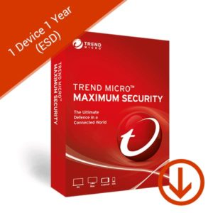 trend micro maximum security 1 device 1 years esd