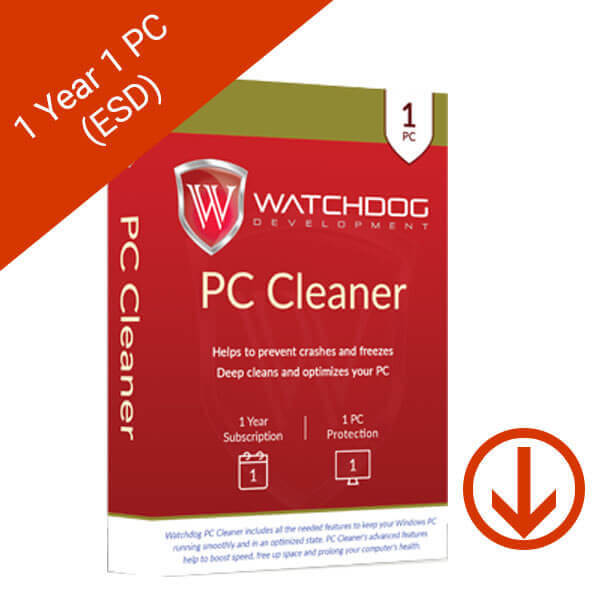 Watchdog PC Cleaner 1 Year 1 PC – 2 – esd