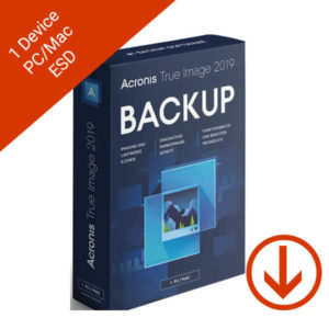 acronis true image 2019 backup 1 computer 250 GB cloud storage esd