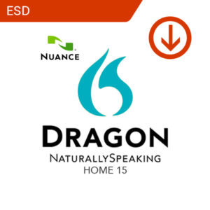 Dragon NaturallySpeaking Home 15 (ESD)