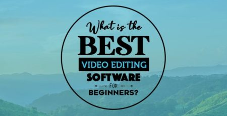 what is the best video editing software for beginners banner for blog post