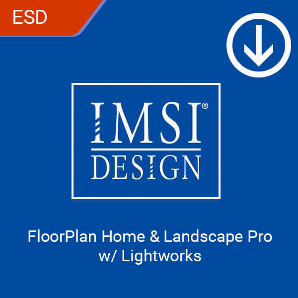 FloorPlan Home & Landscape Pro w Lightworks