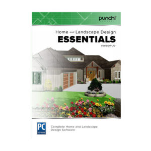 Punch! Home & Landscape Design Essential v20 box