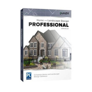 Punch! Home & Landscape Design Professional v20 box