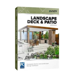Punch! Landscape, Deck & Patio v20 box