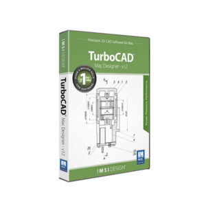 TurboCAD MAC Designer 2D v12 - box