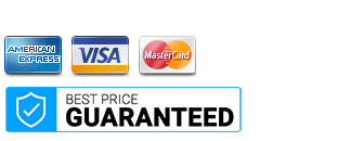 payment acceptance logo and guaranteed icon on softvire online store