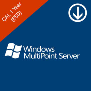 windows multipoint server 1 year cal esd