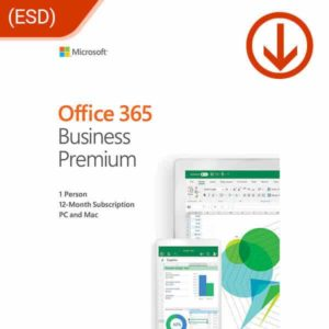 microsoft office 365 office business premium esd 1 yr subscription