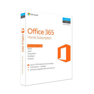 Microsoft Office 365 Home subscription\