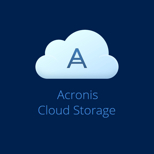 acronis cloud storage product image
